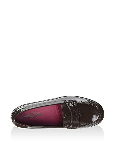 MBT Shani Luxe Penny Loafer, Mocassini Donna Marrone (Coffee Bean Patent)