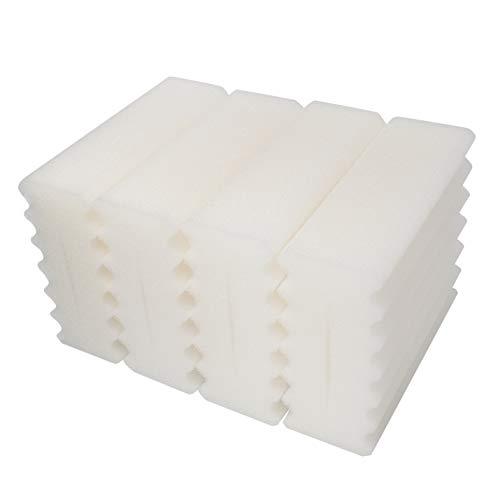 LTWHOME Feine Schaum Filterschwämme Passend für SunSun CBF-350 Bio-Pond Filter (4 Stück)