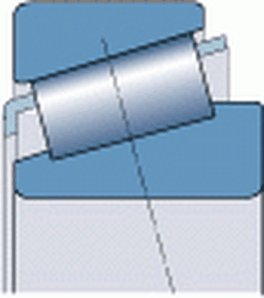 SKF - 32014 X / Q COJINETE DE RODILLOS CONICOS DE UNA HILERA  70X110X25