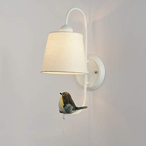 Nordic Wandleuchte Moderne Minimalistische Schlafzimmer Nachttischlampe Kreative Vogel Wohnzimmer Gang Treppen Lampe TV Hintergrund Wand Leselampe