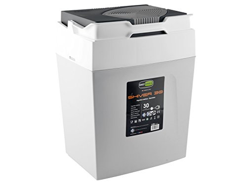 GioStyle Elektrische Kühlbox mit einer Stromversorgung Gio Style 9642Kühlbox Thermo Elektro, weiß, 53x40, 2201034