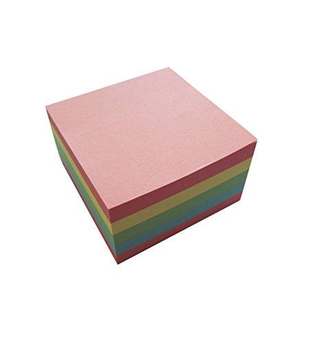 Idena 10204 - Haftnotizen 450 Blatt, 75 x 75 mm, FSC-Mix, pastell