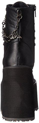 Demonia Demonia Swing-101, Bottes Classiques femme Noir (Blk Vegan Leather))