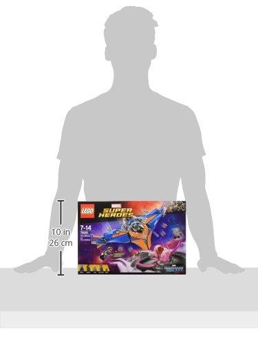 LEGO 76081 Guardians of The Galaxy Faceoff, Vol.2, The Milano vs Abilisk