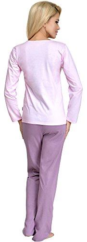 Merry Style Pyjama Femme 286 Rose