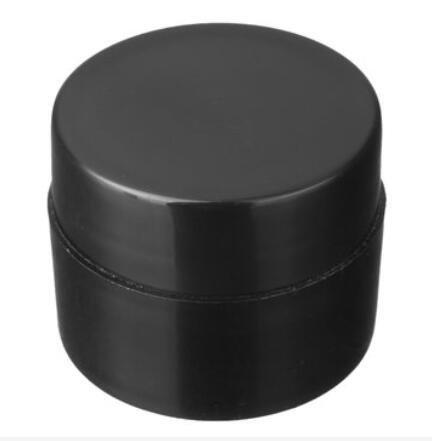 Bluelover Plastique Vide Crème Faciale Contenant Rechargeable Bouteille Nail Art UV Gel Voyage Outils d'emballage - Noir