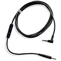 Bose ® QuietComfort 25 Kopfhörer-Kabel mit Inline-Mikrofon und Fernbedienungfür Samsung/Android Gerät schwarz