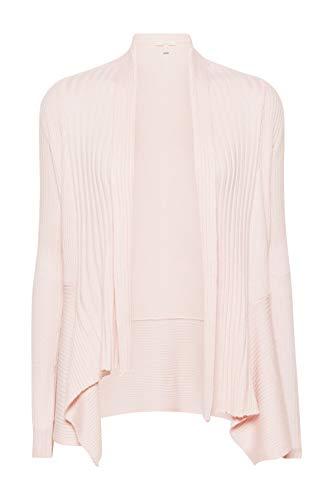 ESPRIT Damen 019EE1I001 Strickjacke, Rosa (Pastel Pink 695), X-Small (Herstellergröße: XS)