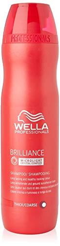 Wella Professionals Brilliance unisex, Shampoo für kräftiges, coloriertes Haar, 250 ml, 1er Pack, (1x 1 Stück) (Care Loreal Color Professional)