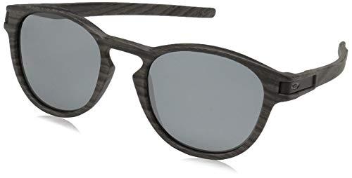 Ray-Ban Herren 0OO9265 Sonnenbrille, Mehrfarbig (Woodgrain), 52