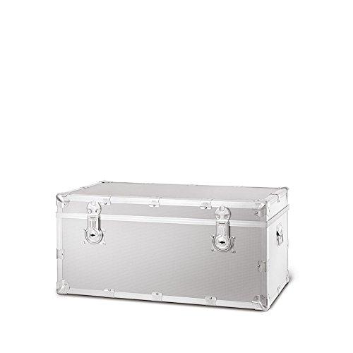Baule Roncato Ciak   Aluminium moletée 120 CM   300219-120-ALUMINIUM