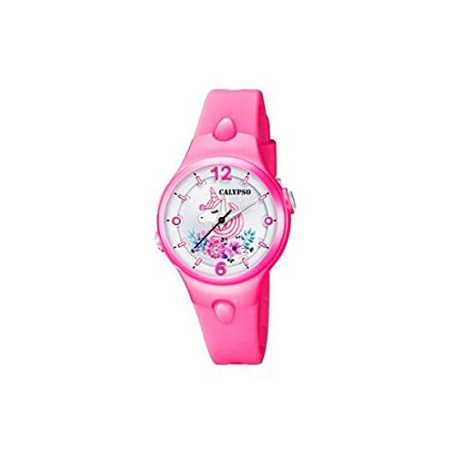 Reloj Calypso Sweet Time K5783/6 para niña, Rosa con Unicornio