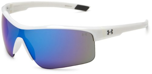 Force Multireflex Sport Sonnenbrille, Shiny White Frame / Graue Linse, eine Gr??e