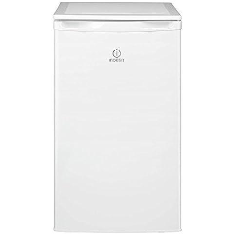 Indesit-TFAA 5 frigo Estate, indipendente, colore: bianco, 101L, 103L, 41 Db, 88L)