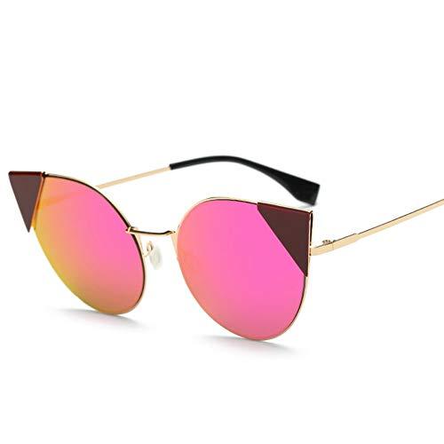 Thirteen Farbe Sonnenbrille Weiblich Anti-UV-Anti-Glare, Geeignet Für Dekoration, Sonnenschutz, Reisen Im Freien, Einkaufen, Reisen, Fahren, Geeignet Für Eine Vielzahl Von Gesichtstypen. (Color : F)