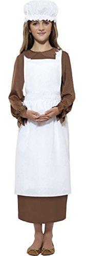Bauern Dress Up Kostüm - Sofortige Viktorianischen Zubehörkit Für Mädchen Historisch