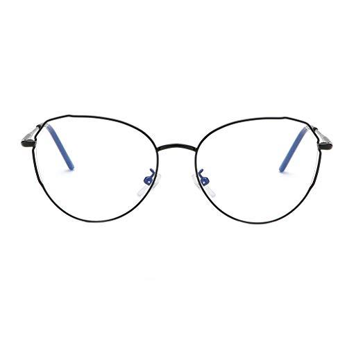 Junecat Männer Frauen Retro-Metallrahmen optische Gläser Brille Unisex freies Objektiv Eyewear Myopic Glas-Rahmen