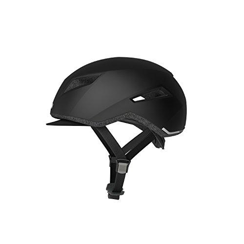 Abus Yadd-I Fahrradhelm, Velvet Black,58-61cm (L)