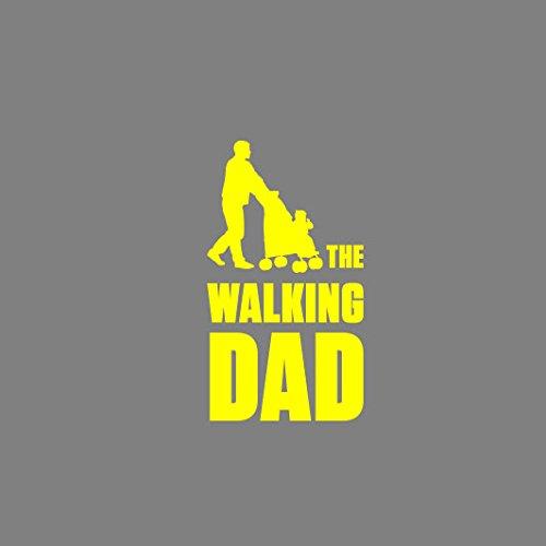 The Walking Dad - Herren T-Shirt Orange