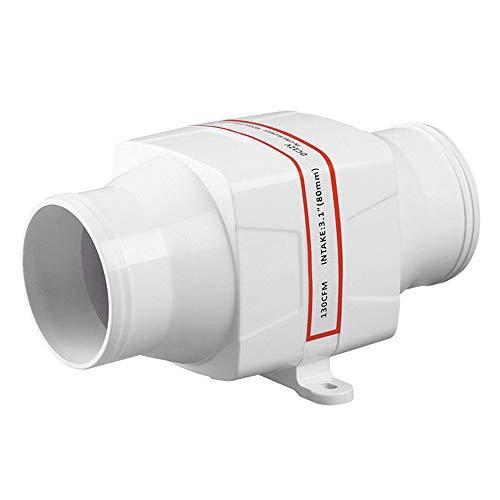 Dc-gebläse-motor (HUKOER Elektrisches Inline-Gebläse 130 CFM 24V 3