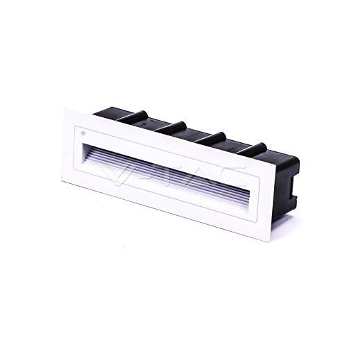 0/cuatro votos comentarios 0V-TAC vt-856Foco LED empotrable Rectangular De 6W Color blanco...