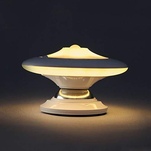 Veilleuse De Nuit à Induction Par Le Corps LED Smart Human 360 Degrés Rotative Creative Light DC 5V Alimentation Par Batterie (sans Batterie) Et Cadeau De Charge,Rechargeable(yellow-light)-10*6.3cm