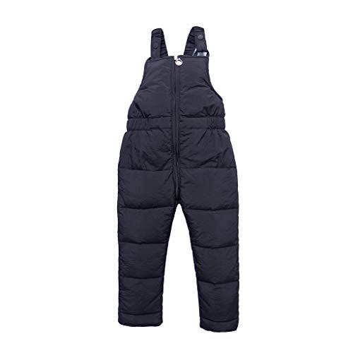 XXYsm Wintersport Bekleidung Mädchen Jungen Unisex Lang Skifahren Hosen Warm Einfarbig Winterhose 1-5 Jahre