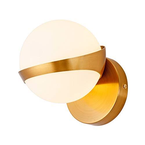 Nordic Postmodern LED Appliques Murales Salon Décoration Corridor Chambre Lampe De Chevet Maison Déco Or Appliques Murales Luminaire,Tricolorlight