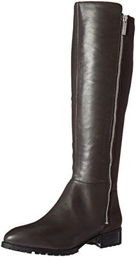 Nine West Women's Legretto Knee-High Boot, Dark Grey, 5 M US (Boots West High Knee Nine)