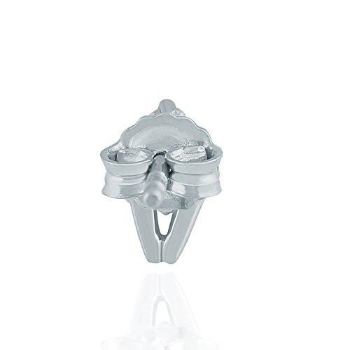 Giantti Diamant pour femme pendantes Boucles d'oreilles (0,13CT, qualité HSI, Gh-colour)