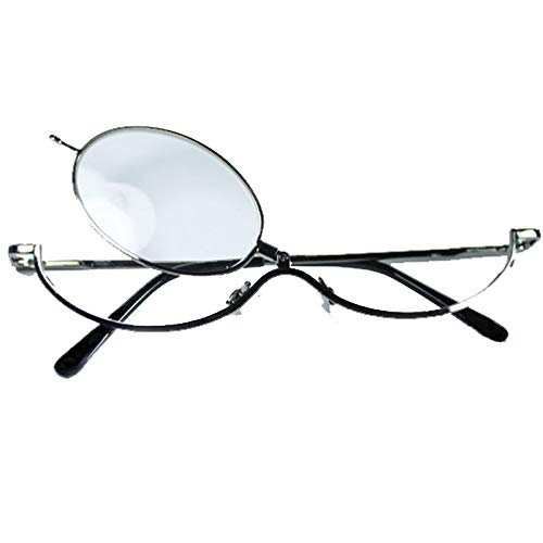 Gafas para maquillarse en metal +3.00