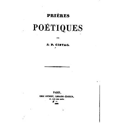 Prières poétiques