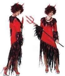 Pierro´s Kostüm Teufelin Lamia Größe ()