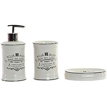 LB H&F Lilienburg 3-teilig. Badezimmer Set aus Keramik Shabby Chic ...