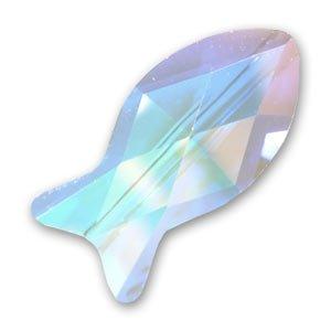 Swarovski 5727 Fisch 14mm Crystal AB x1
