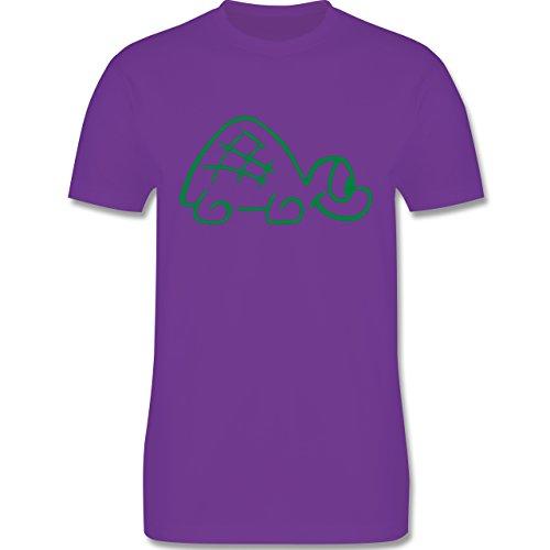 Sonstige Tiere - Schildkröte - Herren Premium T-Shirt Lila
