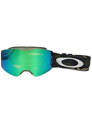 Oakley Unisex-Erwachsene Sportbrille Fall Line 708520 0, Grün (Army Camo Collection/Prizmsnowjadeiridium), - Oakley Von Linsen Jade