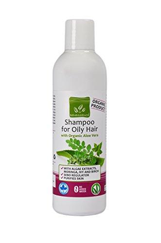 Shampoo für fettiges Haar mit Bio Aloe Vera