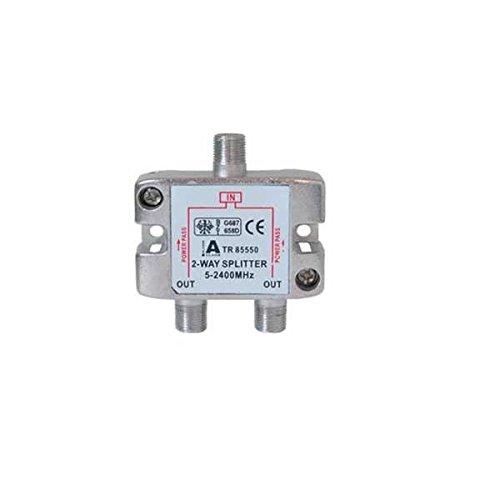 GT-SAT 2-Wege Splitter / Verteiler, 5-2400 MHz, GT-SP21
