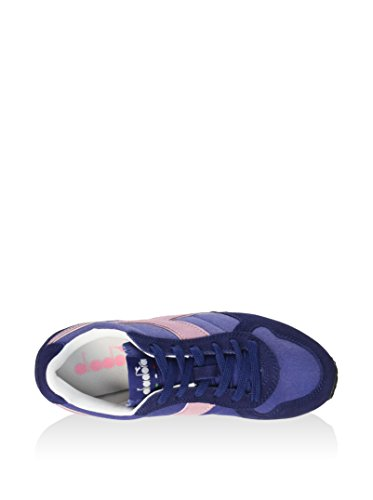 Diadora K-Run C WH, Sneaker Unisex - Adulto Blu Indaco/Rosa