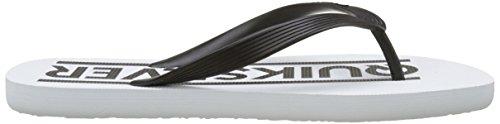 Quiksilver Java Wordmark M Sndl Xkbb Herren Zehentrenner Black/White/White