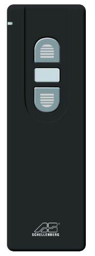 Schellenberg 20019 Smart Home Funk-Handsender 1-Kanal mit 868,4 MHz, schwarz
