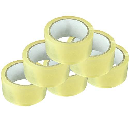 kingorigin or-eb51003a Tape, 6Stück, Paket Klebeband, VERSAND Verpackung Multi Verwendung Tape, Büro, Home Repair Tools