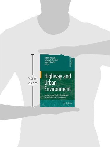 Highway and Urban Environment: Proceedings of the 9th Highway and Urban Environment symposium (Alliance for Global Sustainability Bookseries)