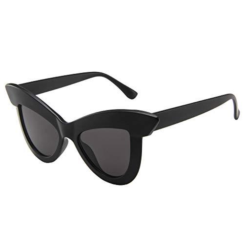 Yncc Frauen-Katzenauge-Sonnenbrille-Retro Brillengestell Eyewear, Mode Polarisierten Sonnenbrillen Outdoor-Reitbrille Sport-Sonnenbrille Big Frame Sonnenbrille Eyewear Adult Anti-UV (C)