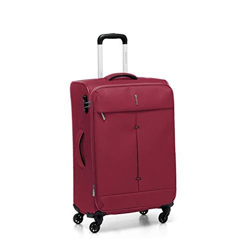 Roncato Trolley Medio M Morbido Ironik - cm. 67x44x27/31 L 74-87 Espandibile Ultra-leggero Chiusura TSA Garanzia 2 anni
