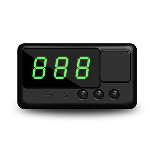 WPFC Display HUD per Auto, Misuratore di velocità Satellitare Universale GPS per Auto Allarme di velocità HD, Progetto Parabrezza per Tutti I Veicoli