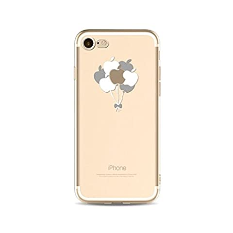 KSHOP Coque en silicone pour iPhone SE/iphone 5/iphone 5s Étui de protection pour téléphone portable TPU Crystal doux Ultra-mince Antichocs résistant aux Rayures avec L'impression du Motif-