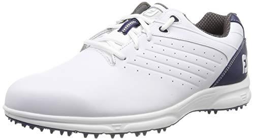 Footjoy Fj Arc SL, Scarpe da Golf Uomo, Bianco (Blanco/Azul Navy 59704m), 42 EU