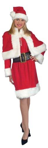 Miss Santa Kostüm für Erwachsene